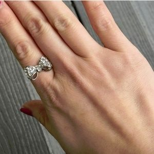 Jewelry - T-j designs small luxe crystal bow ring
